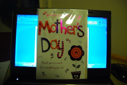 A card for my mom